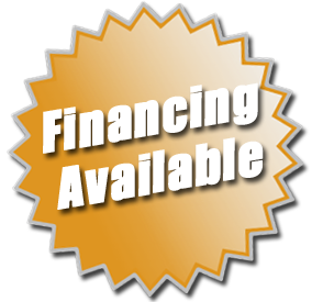 FINANCING AVAILABLE with approved credit